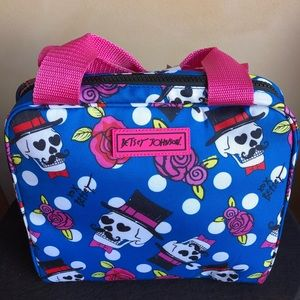 Betsey Johnson Skull Lunch Tote